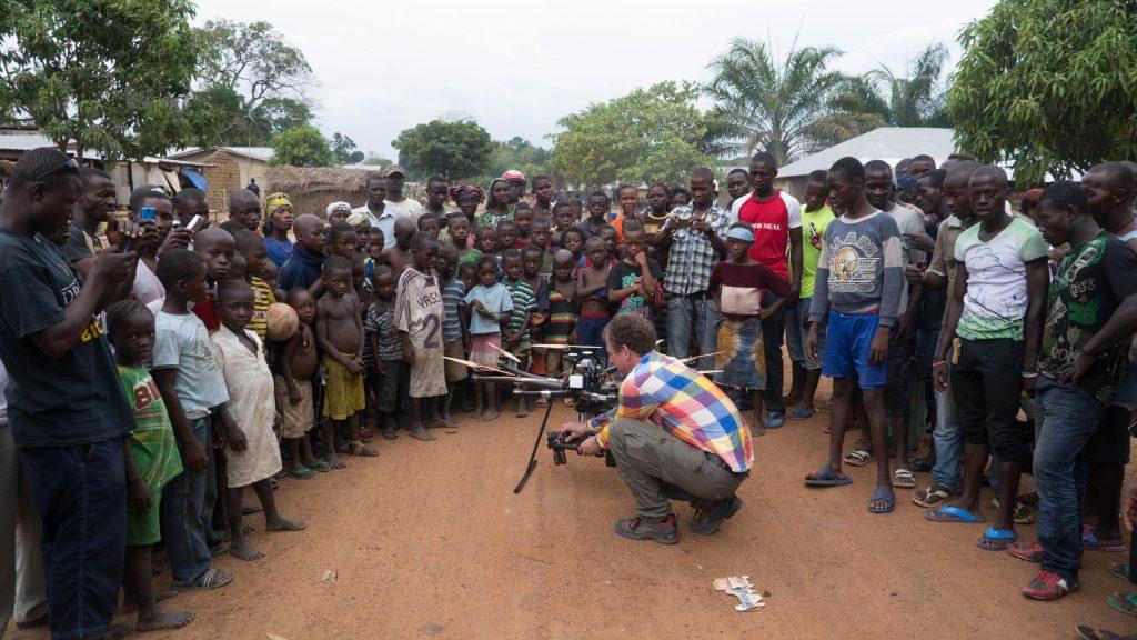 Flugaufnahmen in Sierra Leone